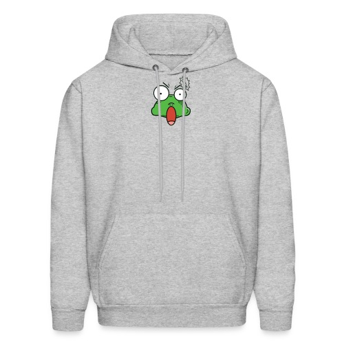 Frog with amazed face expression - Men's Hoodie