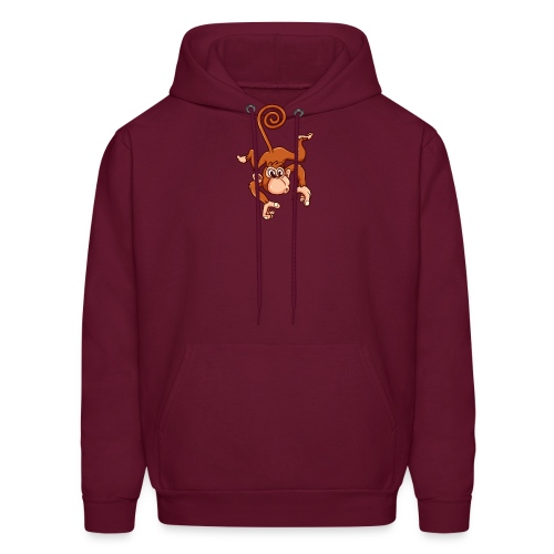 Cheeky Monkey - Men's Hoodie