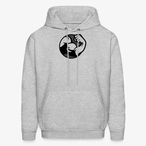 Black and Grey Performance - Men's Hoodie