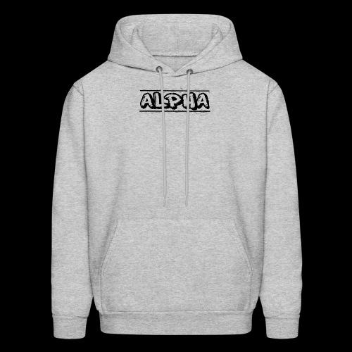 Alpha Design - Men's Hoodie