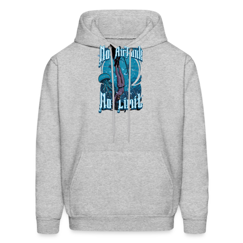 No Air Tank No Limit Freediving merchandise - Men's Hoodie