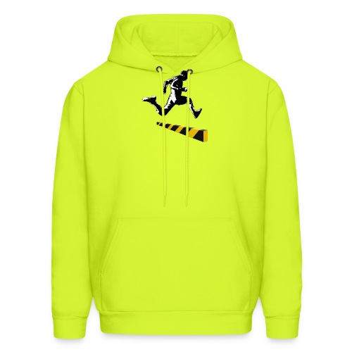 Leaping The Bounds of Caution - Men's Hoodie