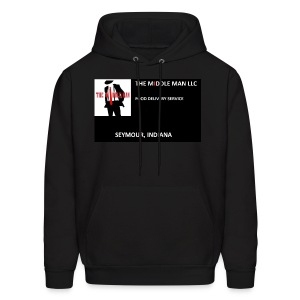 The Middle Man FDS Logo - Men's Hoodie