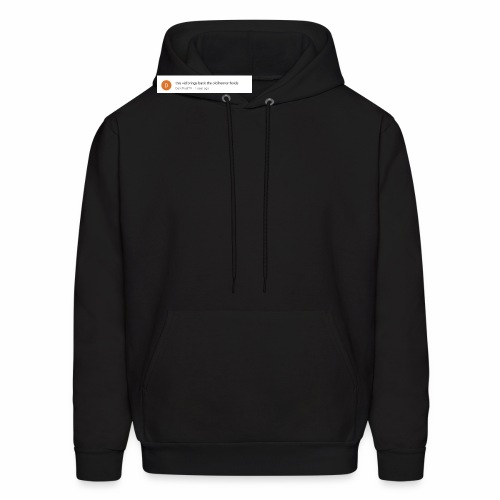 this vid brings back the old hemorrhoids - Men's Hoodie