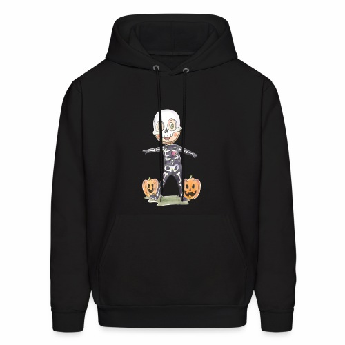 Halloween costume character background - Men's Hoodie