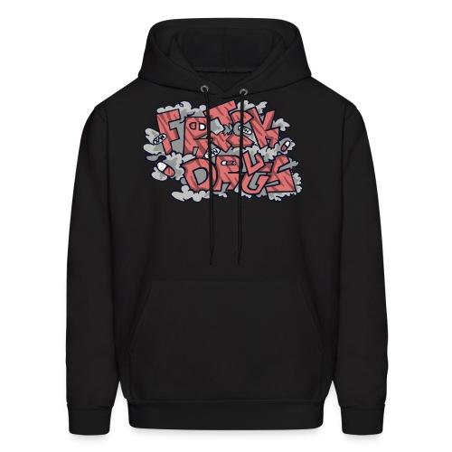 FRICK DRUGS! (RED) - Men's Hoodie