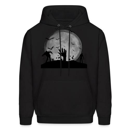 zombie shirt - Men's Hoodie