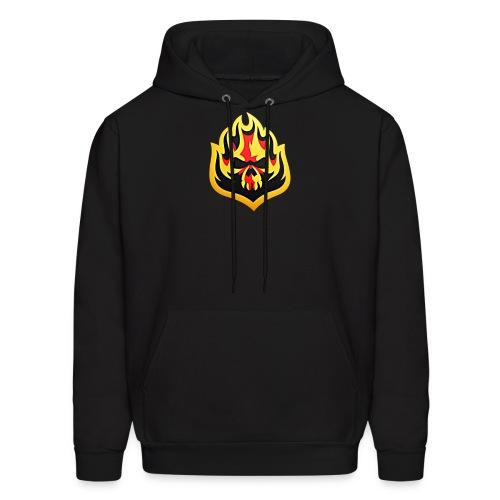 ListenTunes Fire Skull - Men's Hoodie