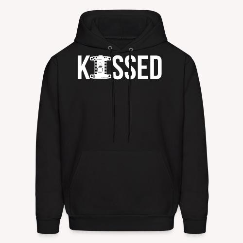 White kissed logo - Men's Hoodie