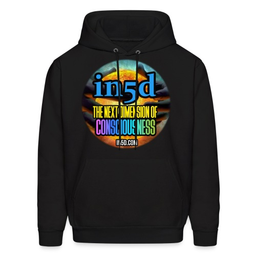 In5D Main Logo - Men's Hoodie