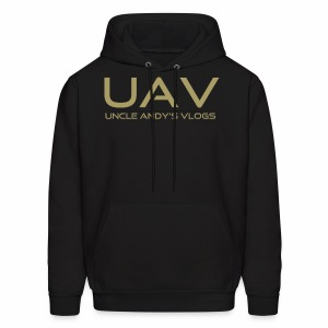 Uncle Andy's Vlogs Merch (gold) - Men's Hoodie