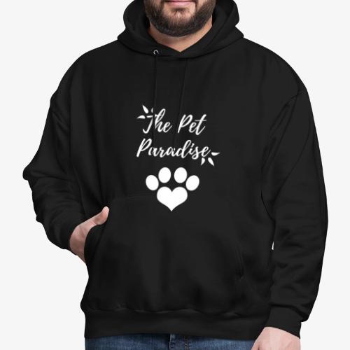 The Pet Paradise - Logo - Men's Hoodie