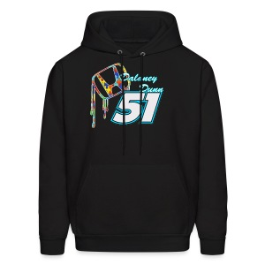 Dalaney Dunn Racing Logo - Men's Hoodie