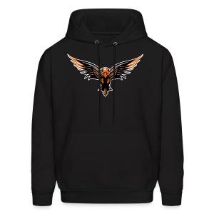 BrawNz Falcon Logo - Men's Hoodie