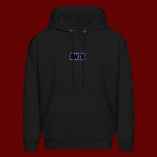 AWZM (Awesome Shortened) text design. - Men's Hoodie