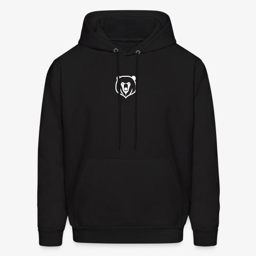 white kz logo - Men's Hoodie