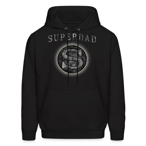 Fathersday T-Shirt - Superdad - Men's Hoodie