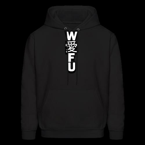 waifu_vertical - Men's Hoodie
