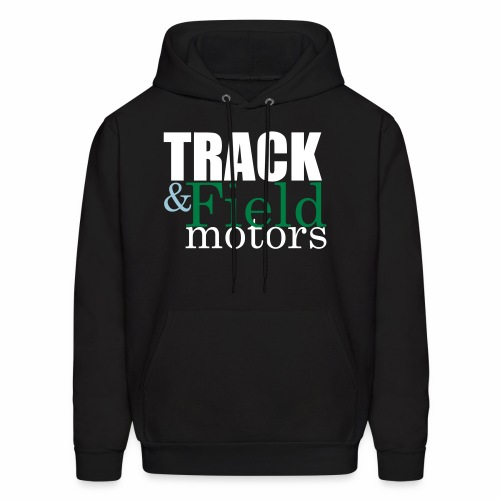 Track and Field Logo - Men's Hoodie