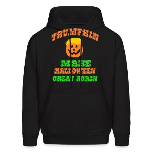 Trumpkin Halloween Shirt - Men's Hoodie