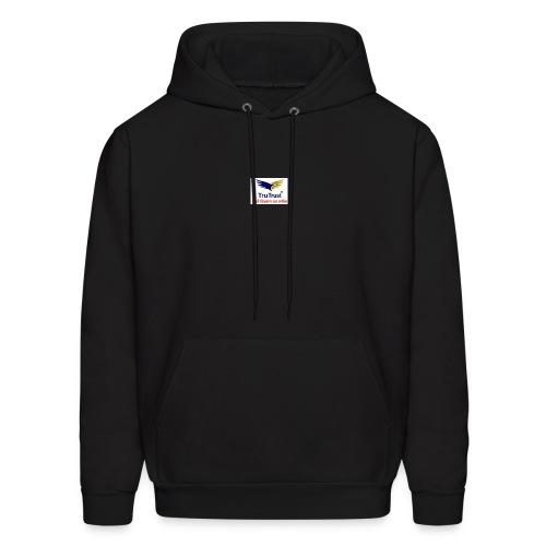 trutrst logo - Men's Hoodie