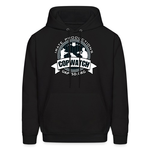 IRATE Productions Copwatch - Men's Hoodie