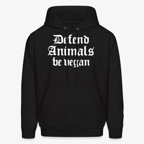 Defend Animals - Men's Hoodie