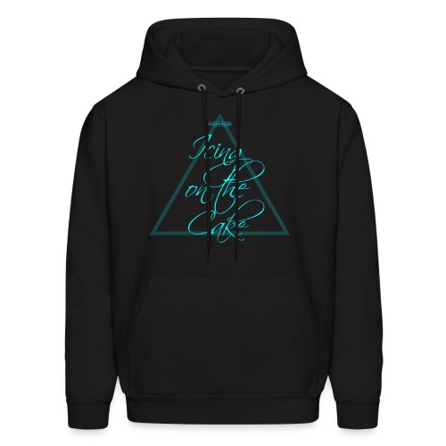 Icing on the Cake (Light Blue) - Men's Hoodie