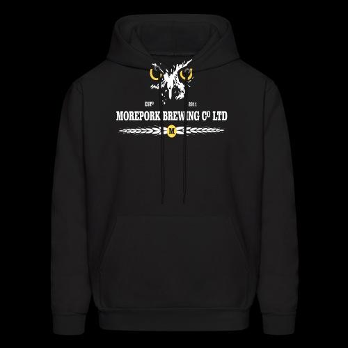 Morepork Brewing logo - Men's Hoodie