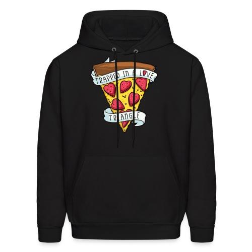 pizza valentine - Men's Hoodie
