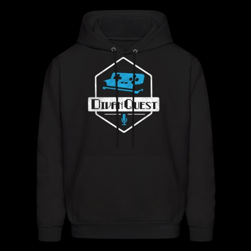 DivanQuest Logo (Badge) - Men's Hoodie