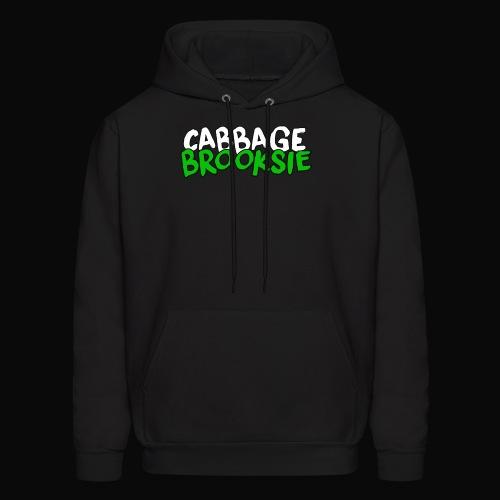 cabbagebrooksie logo v2 - Men's Hoodie
