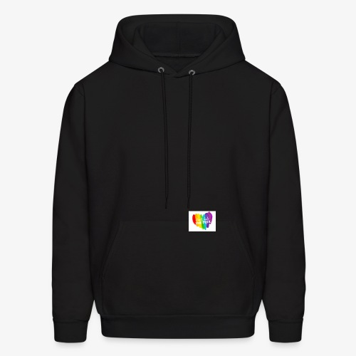 Dont hide your pride logo transparent high resolu - Men's Hoodie