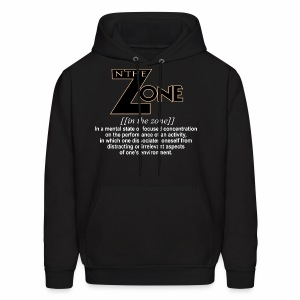 in the zone definition 1 - Men's Hoodie