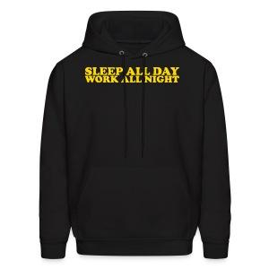 Work All Night - Men's Hoodie