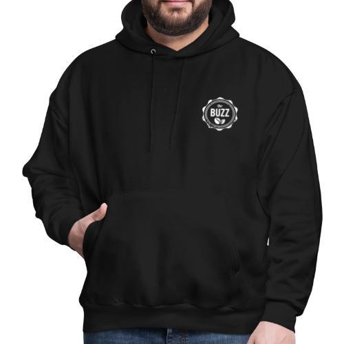 The Buzz White Logo - Men's Hoodie