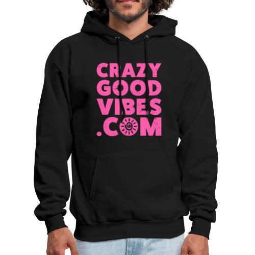 Crazy Good Vibes - by CrazyGoodVibes.Com - Men's Hoodie