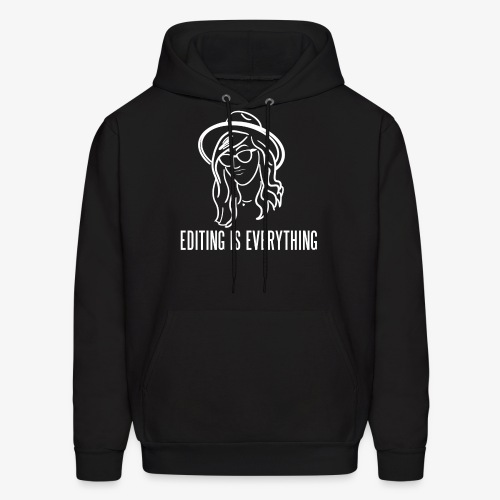 Editing Is Everything NEW LOGO - Men's Hoodie