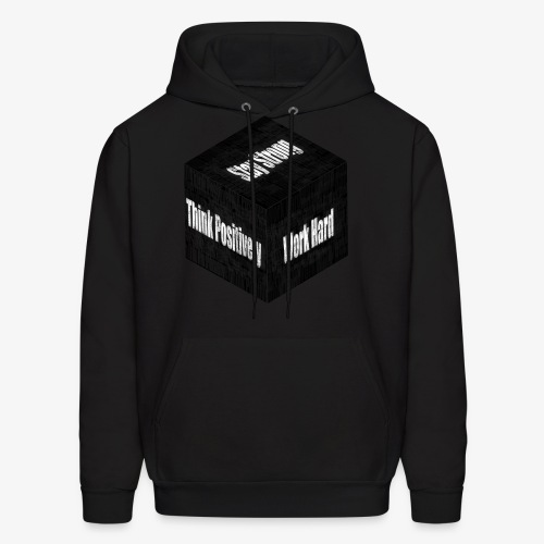 Think, Work And Stay - Men's Hoodie