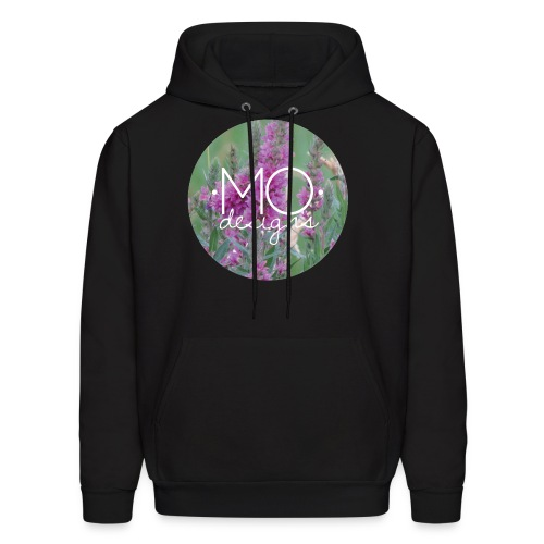 •MO• designs Purple Logo - Men's Hoodie