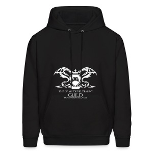 White Game Development Guild Crest - Men's Hoodie