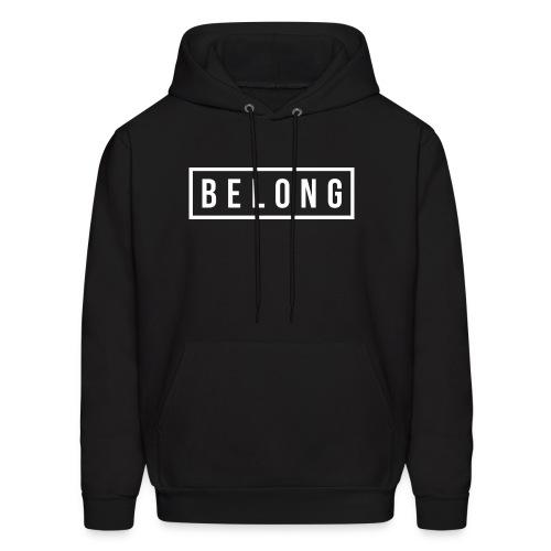 Belong White - Men's Hoodie
