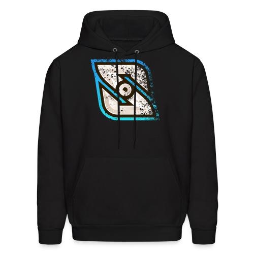 Grunge Logo - Men's Hoodie