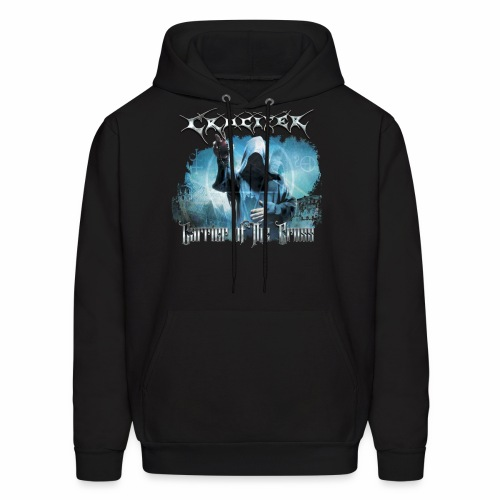 Crucifer Carrier of the Cross - Men's Hoodie