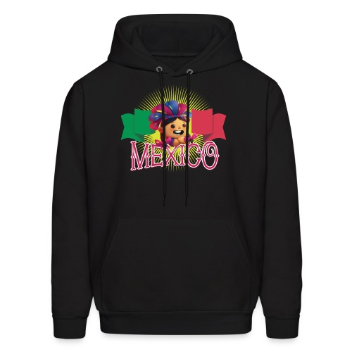 Viva Mexico Girl - Men's Hoodie