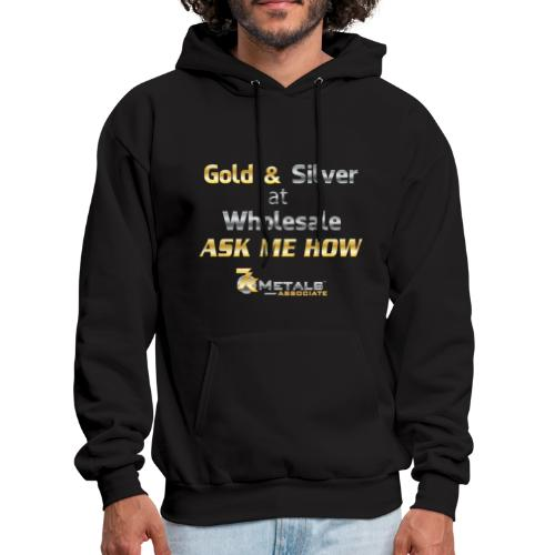 gold and silver at wholesale - Men's Hoodie