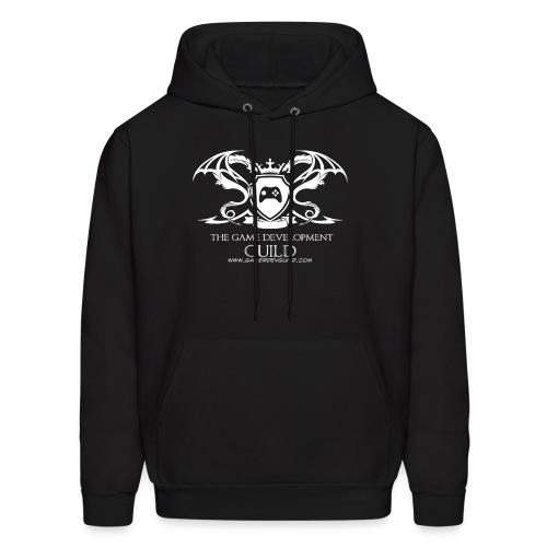 White Game Development Guild Crest - Men's Hoodie