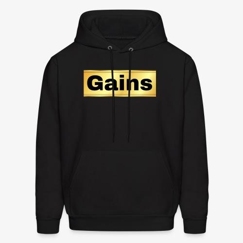 gold gains - Men's Hoodie