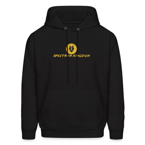 Spectrum Kingdom Gold Logo - Men's Hoodie