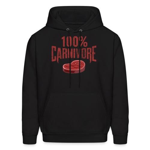 100% Carnivore - Men's Hoodie